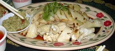 Hainan chicken at Sanur