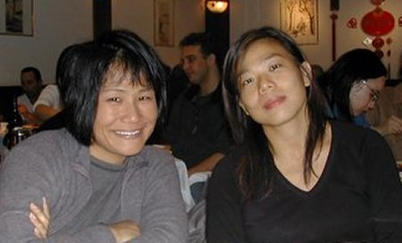Maria and Angela at Grand Sichuan
