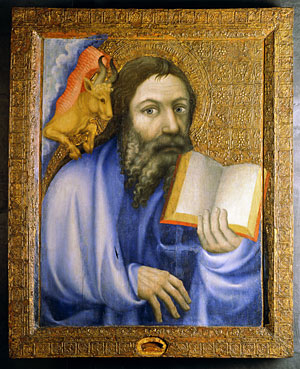 Saint Luke, 1360–64, Attributed to Master Theodoric