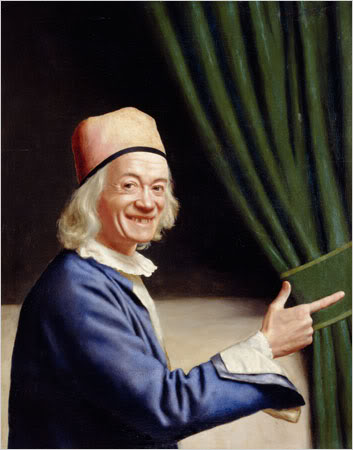 Jean-Étienne Liotard (1702-1789), Liotard Laughing, c. 1770, oil on canvas