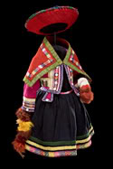 Quechua Child's Costume, Beauty Surrounds Us, at the Diker Pavilion for Native Arts and Cultures