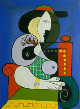 Pablo Picasso, Seated Woman with Wristwatch, 1932